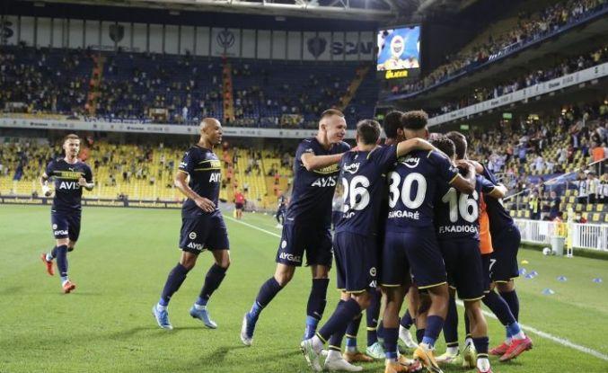 Fenerbahçe tur avantajını aldı