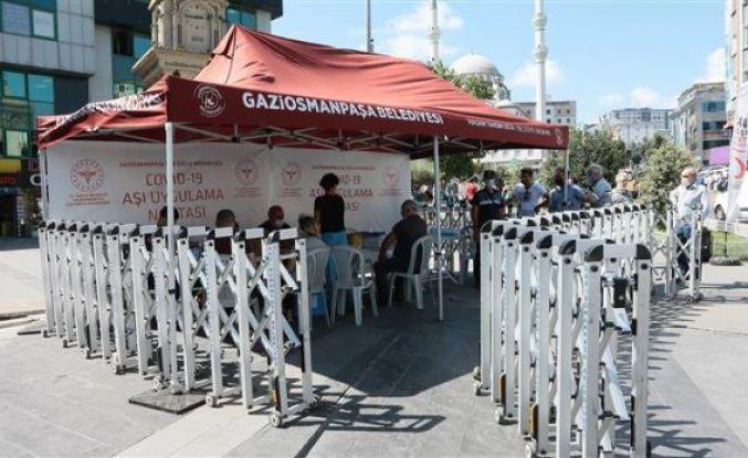 Gaziosmanpaşa'da Aşılama Hızla Devam Ediyor