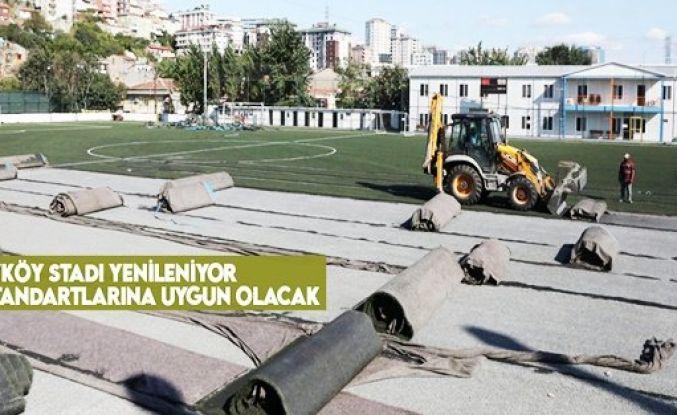 Alibeyköy Stadı, FIFA standartlarına uygun hale geliyor