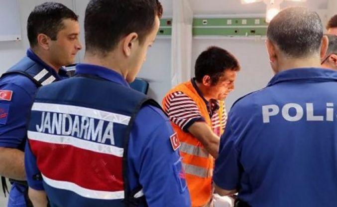 Arnavutköy'de hastanede görevli jandarma personeline saldırdılar