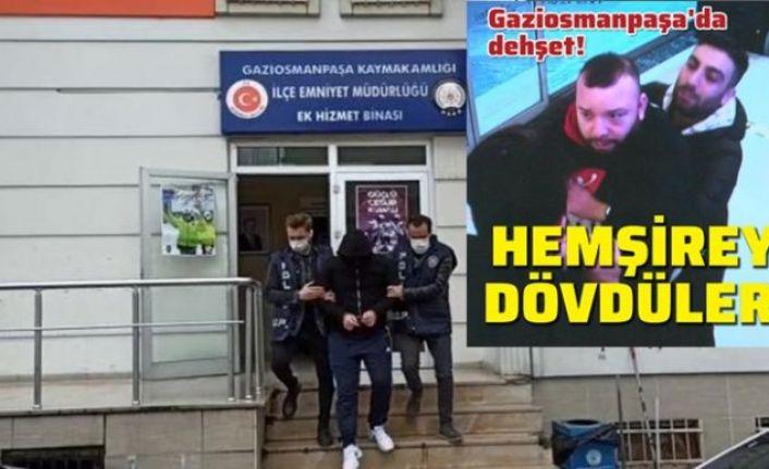 Gaziosmanpaşa'da sağlık çalışanına saldıran şüpheli tavan arasında yakalandı