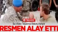 Türk Askeri ile Hollanda Askeri Bilek Güreşi