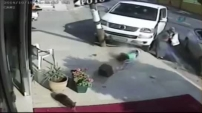 Görünmez kazada sağ ayağını kaybetti